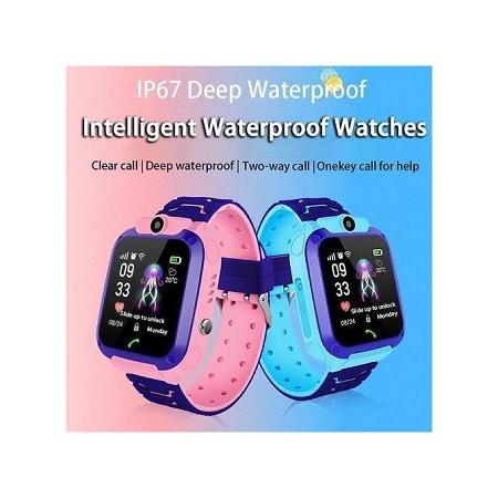 Generic Q12 Smart Watches For Kids ,Waterproof, GPS