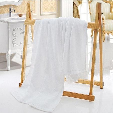 Bath Towel - 100% Premium Cotton - White
