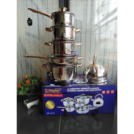 Zepter 12pcs Heavy Duty Cookware Set (induction Cooking Pots)