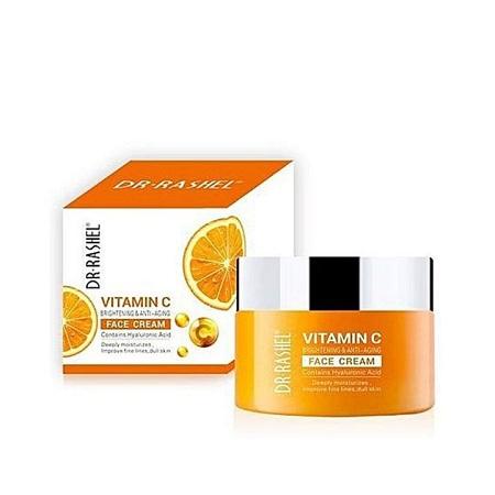 Dr. Rashel Vitamin C facial cream clear