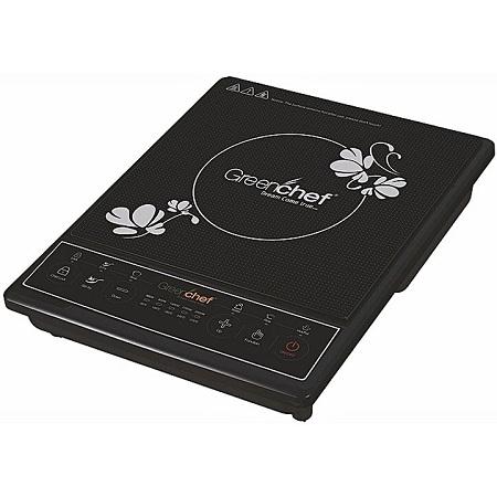 Generic SMART+ COOKER Single Plate induction Cooker Black