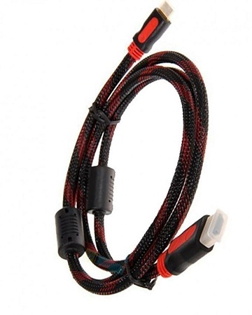 HDMI Cable- 1.5M Red+Black red