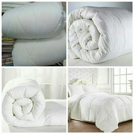High Quality cotton Duvet set white 6*6