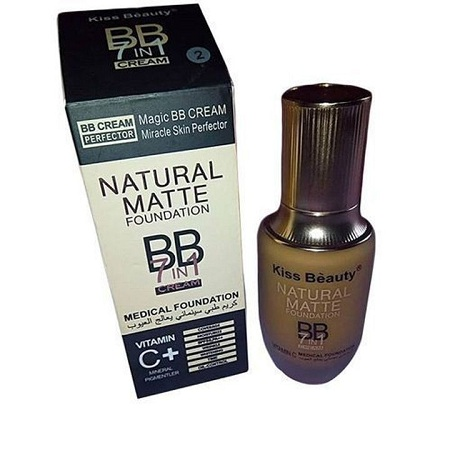 Natural Matte Foundation BB Cream 7 in 1 Medical Foundation #1