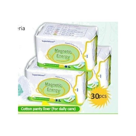 Longrich Pantyliner with Magnetic Energy, Anion, Far Infrared (30pcs per pack)