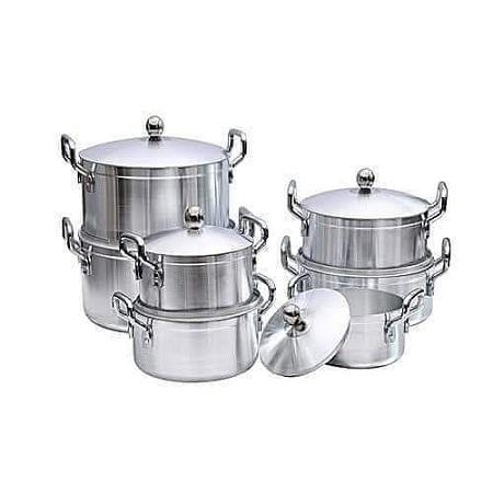 7 cooking pots
