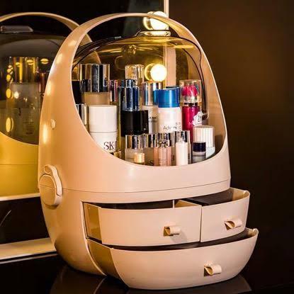 Dustproof Cosmetic organiser/make up organiser/jewellery organiser/storage desk organiser
