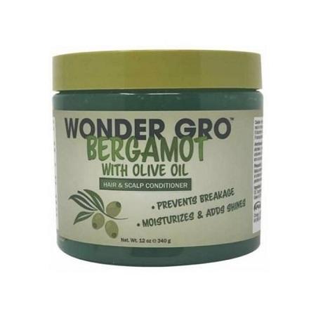 Wonder Gro Bergamot With Olive Oil Hair & Scalp Conditioner - 340g