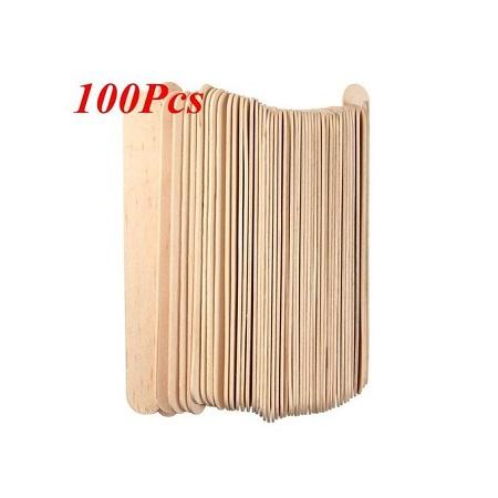 Wooden Waxing Spatula / Tongue Depression 100 PCS.