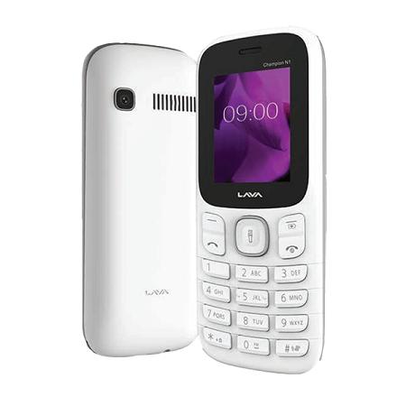 Lava N1 1.8 Inch Dual Sim - White