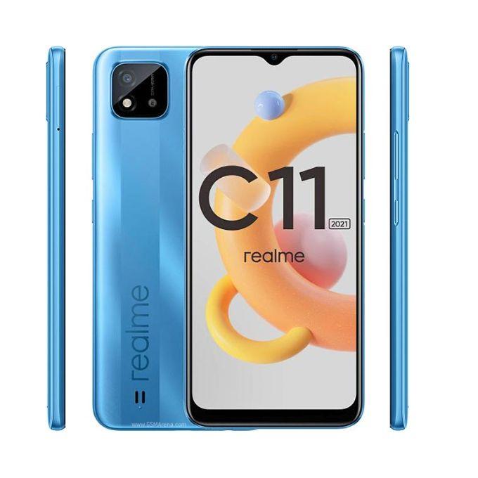 Realme C11 2021, 6.5 Inch, 32GB + 2GB RAM (Dual SIM)i Blue