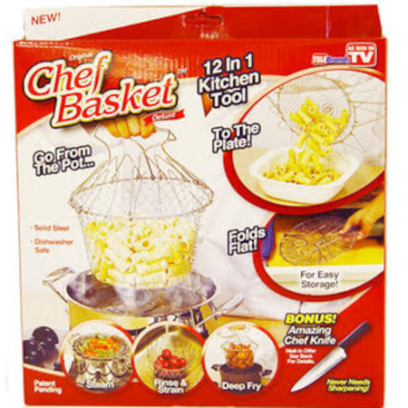 Generic 12 In 1 Multifunctional Chef Basket - Silver