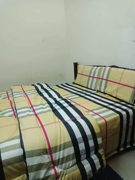 Burberry print Duvet set
