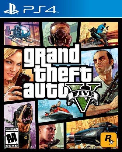 Sony PS4 Grand Theft Auto 5 (GTA V)