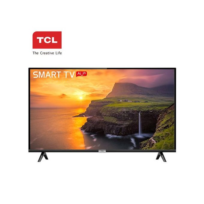 TCL 43S6500 - 43 Inch Android AI Smart TV - Black