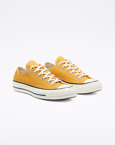 Unisex Converse Rubber Shoes - Yellow
