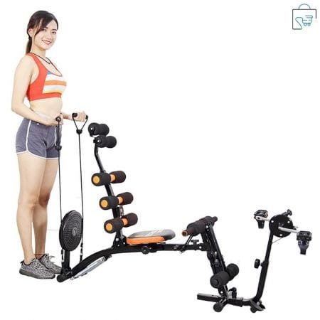 Six Pack Care ABS Fitness Machine with Pedals and waist twister