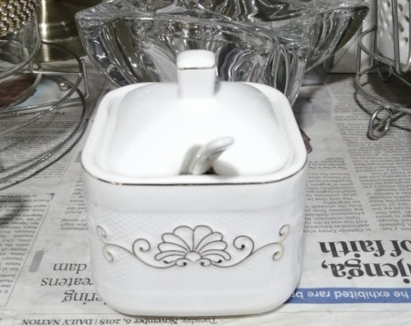 High Quality Ceramic sugar dish