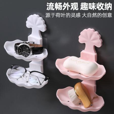 Double Bathroom/Kitchen Soap Holder