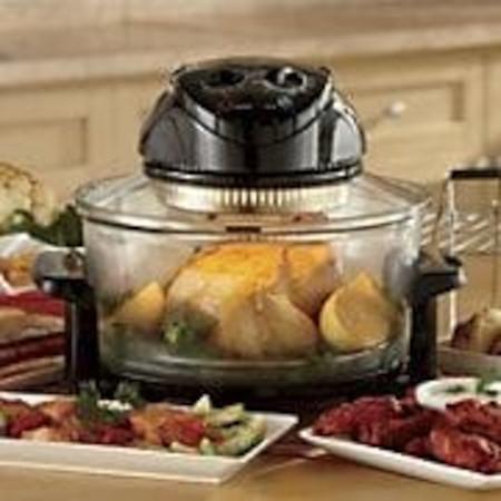 Halogen cooker air fryer