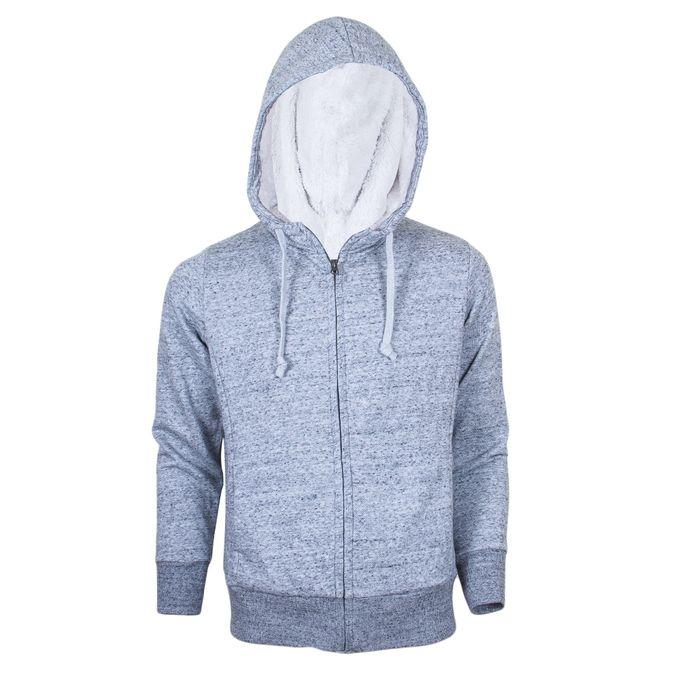 Fashion Grey Fleece Hoodie Limited Edition
