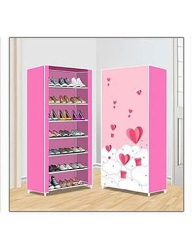 Nunix Portable Shoe Rack- 0608 Pink