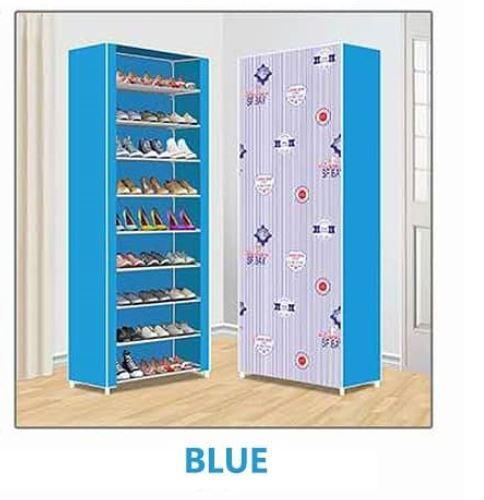 Nunix Portable Shoe Rack 0610 Blue