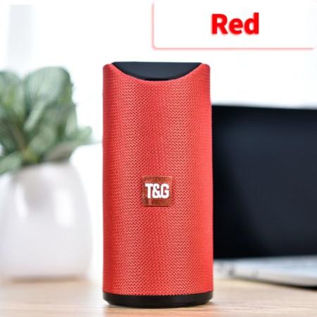 TG Bluetooth Speaker Portable Outdoor Loudspeaker Wireless Mini Column 3D 10W Stereo Music Surround Support FM TFCard Bass Box