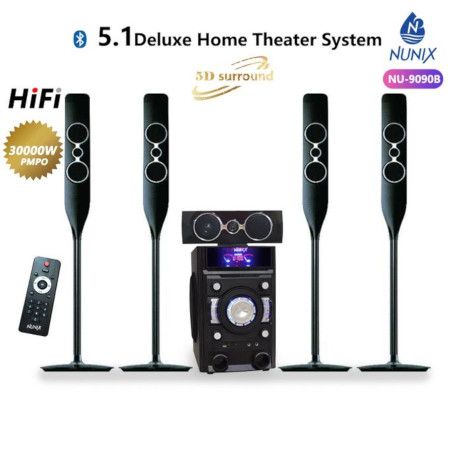 Nunix 5.1 MINI Home Theater System 9090B