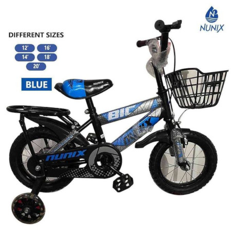 Nunix Kids Bicycle Size 12 For Age 3-6 Years