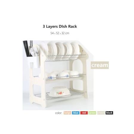 Dish Rack 3 Tier