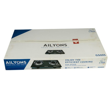 AILYONS Glass Top Table Cooker Explosion Proof GS005