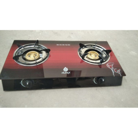 Nunix GS-006 - Tampered Glass Gas Table Cooker