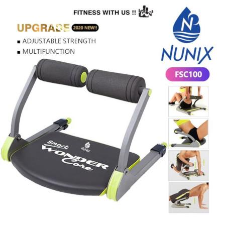 Nunix Abs Workout Fitness Equipment Multi Function FSC001