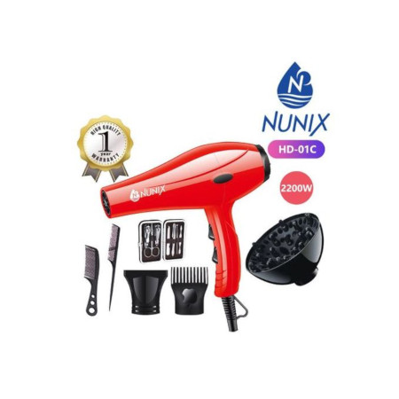 Nunix Blow Dry Machine -Hair Dryer HD-01C