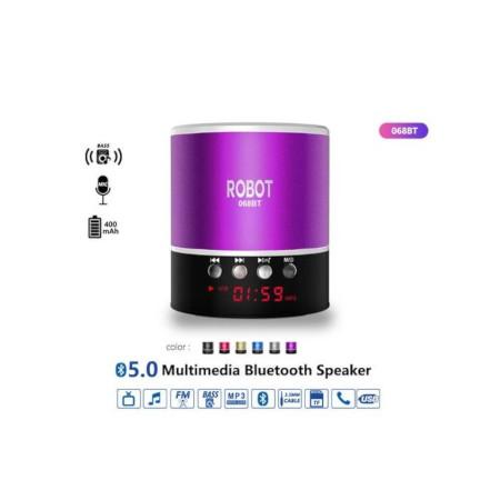 Robot Multimedia Bluetooth Speaker