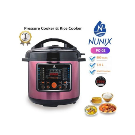 Nunix Multi-functional Electric Pressure Cooker/rice Cooker