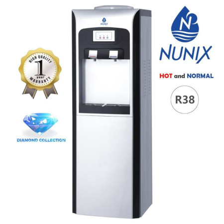 Nunix Hot And Cold Free Standing Water Dispenser- R38