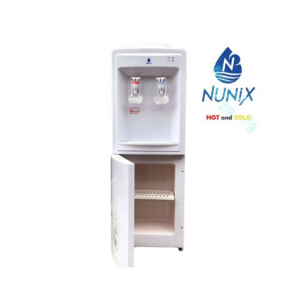 Nunix Hot And Cold Free Standing Water Dispenser-White R5