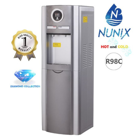 Nunix Hot And Cold Free Standing Water Dispenser- R98