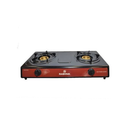 Rashnik 2 Burner Table Top Gas Stove