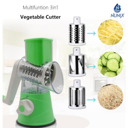 Nunix Multifunctional 3 In 1 Vegetable Cutter