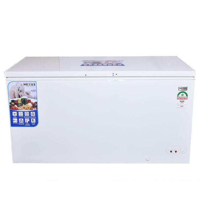 Nexus NX 450C - 368 Litres - Chest Freezer-White
