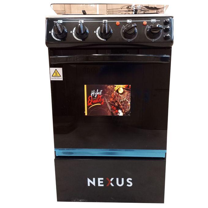 Nexus NXK-5001 (4+0), 4 Gas, Gas Oven - Black
