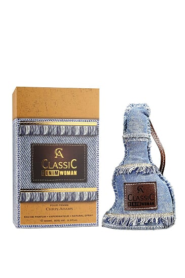 Chris Adams CA Classiuc Women Denim for Women , EDP - 100 ML