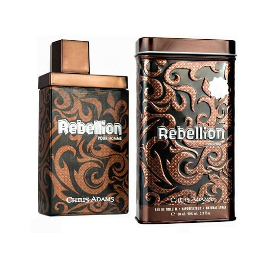 Chris Adams Rebellion for men , Eau De Toilette - 100Ml