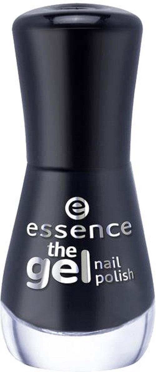 Essence The Gel Nail Polish - 46 Black is Back