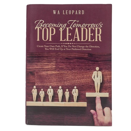 Generic Becoming Tomorrows Top Leader- Create Your Own Path Book