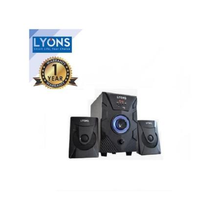 Lyons 2.1 Multimedia Speaker System