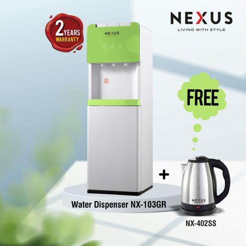 Nexus NX-103 GR, Hot & Cold & Normal - GREEN, Dispenser Combo